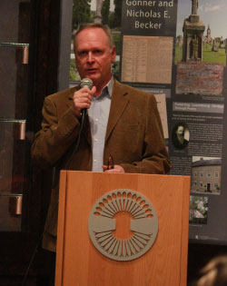 Luxembourg Consul Stan Myck Speaks at Luxembourg American Cultural Society