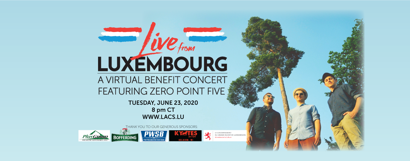 Live from Luxembourg: Featuring the music of Luxembourg's Zero Point Five