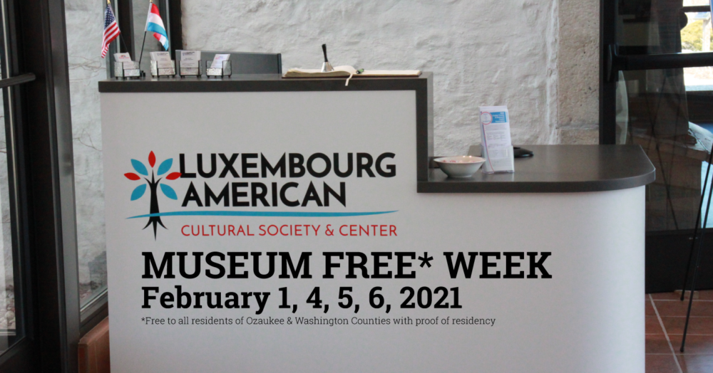LACS Hosts Free Museum Week in February