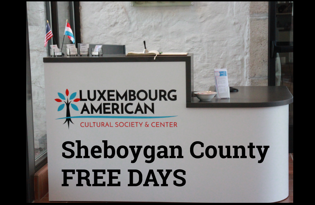 Sheboygan County Residents to visit LACS free of charge July 22-24, 2021