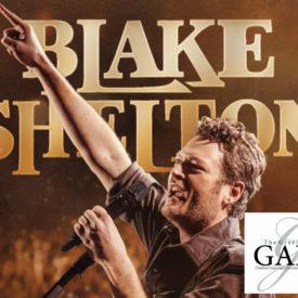 Blake Shelton concert promotional image for Gala