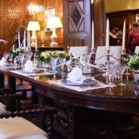 Dining room at Luxembourg Embassy