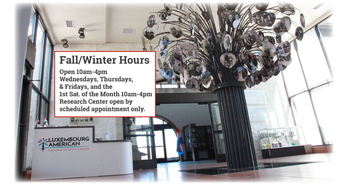 Fall and Winter Hours at the LACS